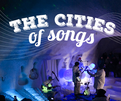 Ice Music: Cities of Songs Lördag 28/2