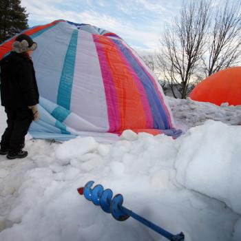 Uppblåsning av ballonger