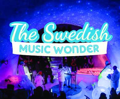 The Swedish music wonder, Fredag 4/3